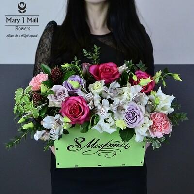 Сумочка с цветами №2