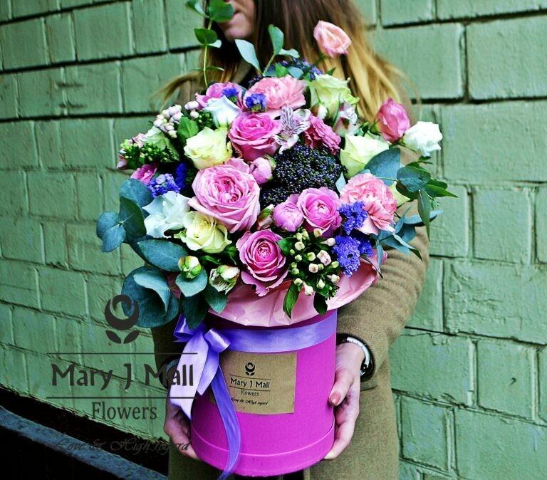 Цветы в коробке №67