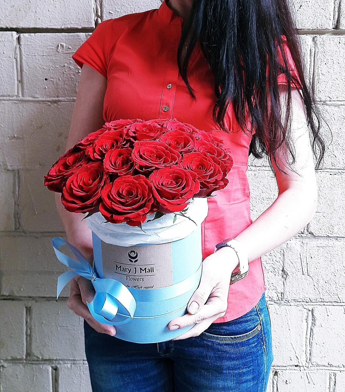 Цветы в коробке №40