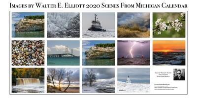 2020 Scenes From Michigan Calendar