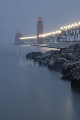Blue Hour Fog