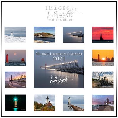 2021 Michigan Lighthouse Calendar