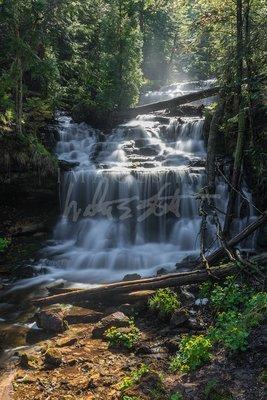 Sunny Morning at Wagner Falls