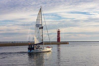 Sailing Muskegon