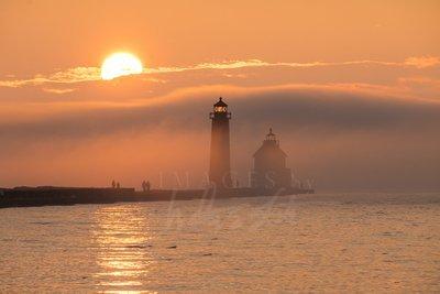 Rolling Fog Sunset