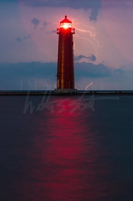 Raindrops and Lightning Strikes
