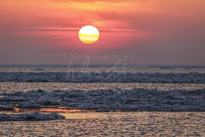 Warm Winter Sunset