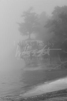 Foggy Chapel Rock