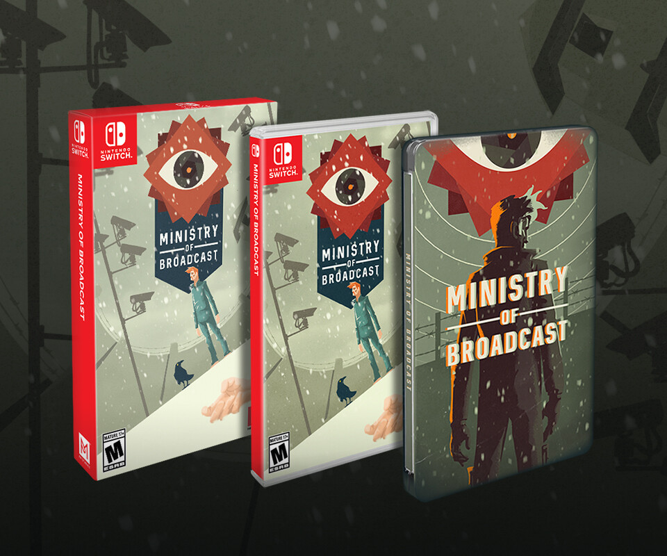 Ministry of Broadcast Steelbook Edition - Switch