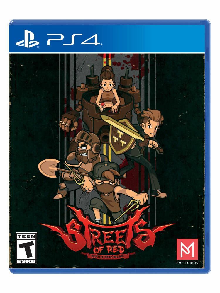 Streets of Red - Special Cover Edition (PS4)