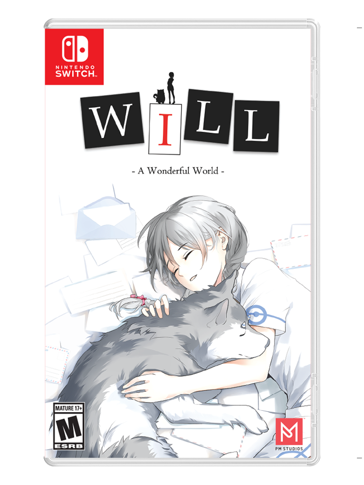 WILL: A Wonderful World - Switch (Alt Cover with Stickers)