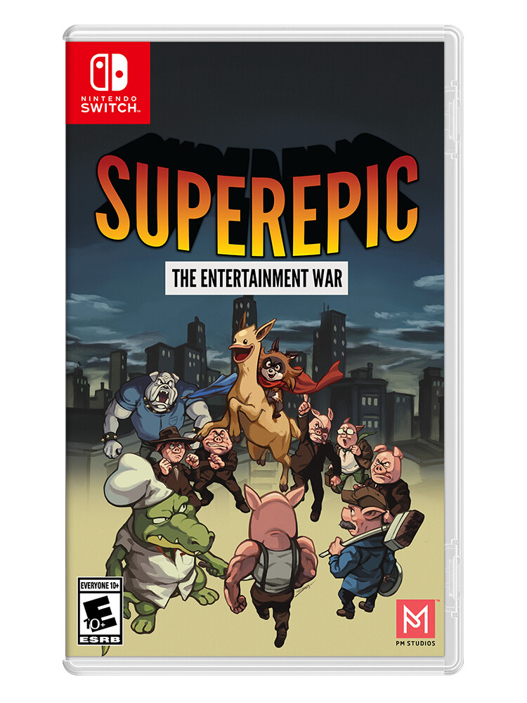 SuperEpic: The Entertainment War - Switch