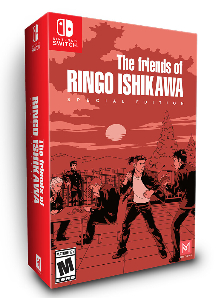 The Friends of Ringo Ishikawa - Special Edition (Switch)