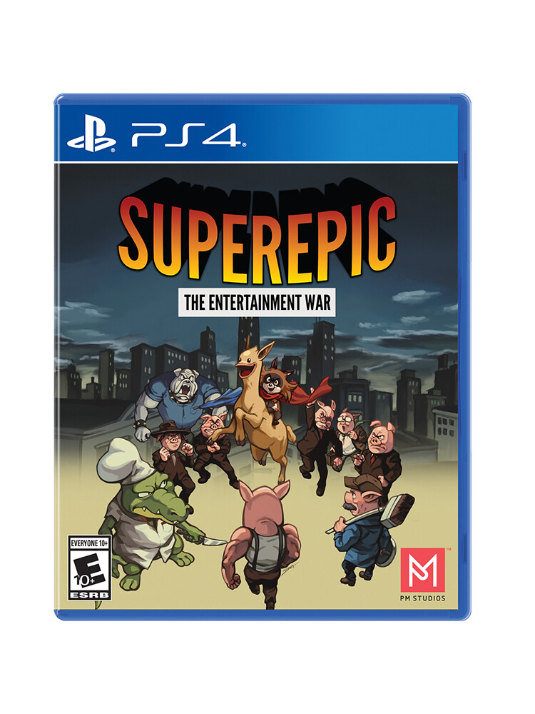 SuperEpic: The Entertainment War - PS4