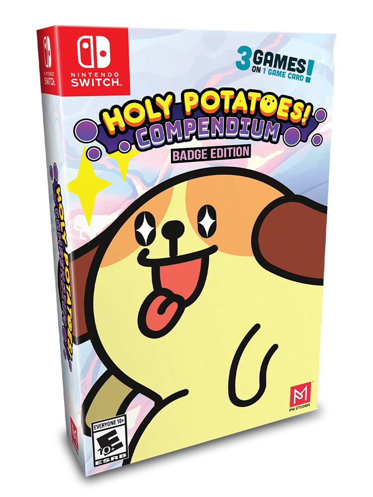 Holy Potatoes! Compendium - Badge Edition (Switch)
