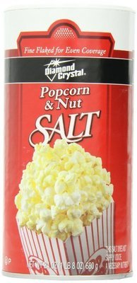 Fine Popcorn & Nut Salt, 28 Ounce