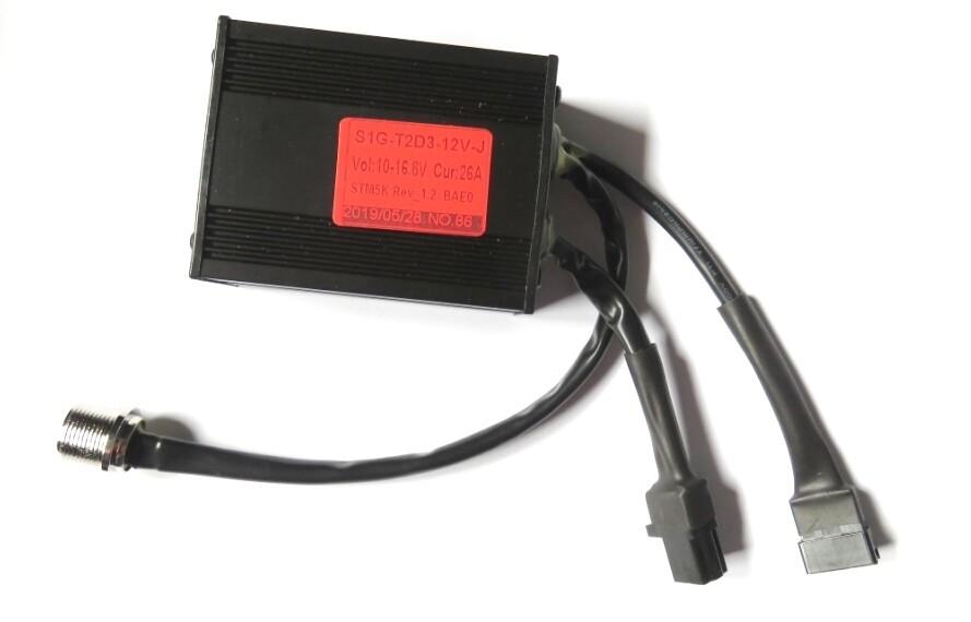 Electric Golf Trolley Controller Model SIG-T2D3-J-12V