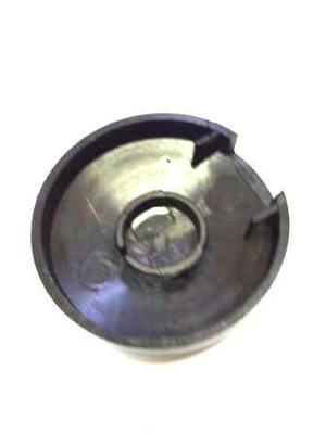 Electric golf trolley wheel hub cap