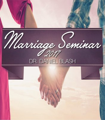 Marriage Seminar 2017 Session One
