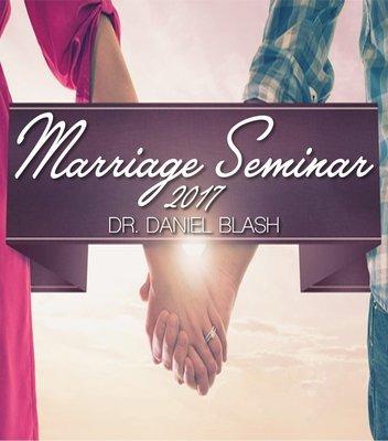 Marriage Seminar 2017 Session Three