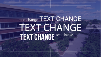 ADD-ON / TEXT CHANGE