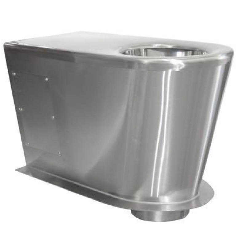 Stainless Steel Pedestal (excludes seat)