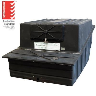 Clivus Multrum™ CM14  (including Chute ex Pedestal & Seat) CM-14PAC