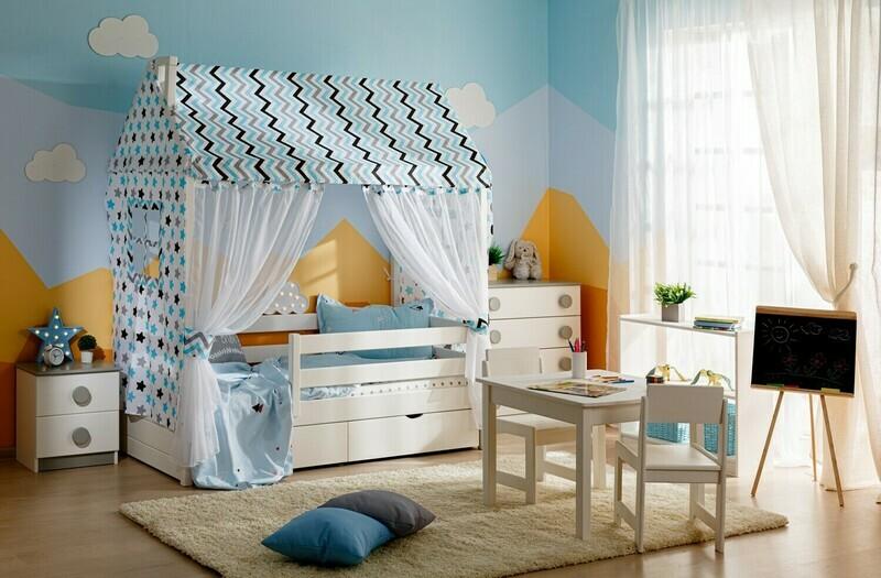 арт. 8258 Кровать-домик №5