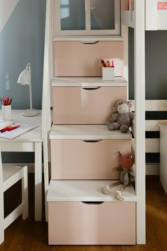 арт. 8268  Лестница-комод для детской комнаты