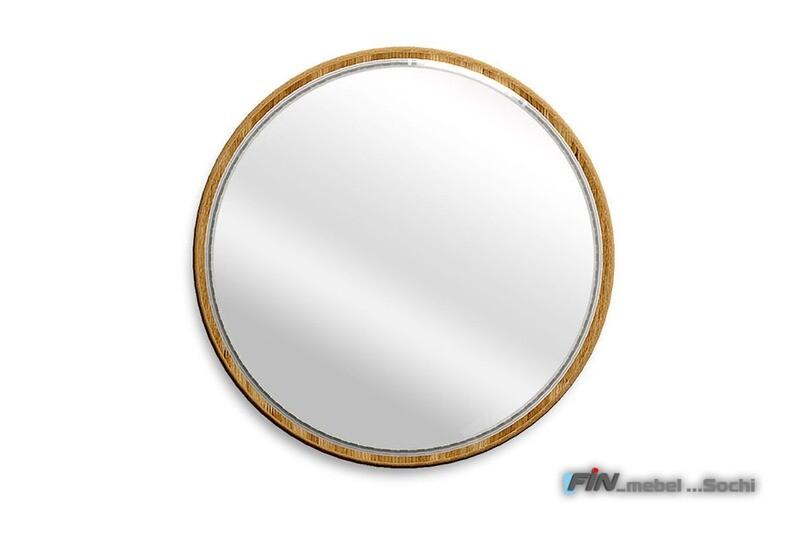арт. 5072 ДУБ массив Зеркало настенное