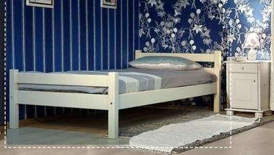 арт. 8002 Кровать Классика/1 NEW (без-изножья)