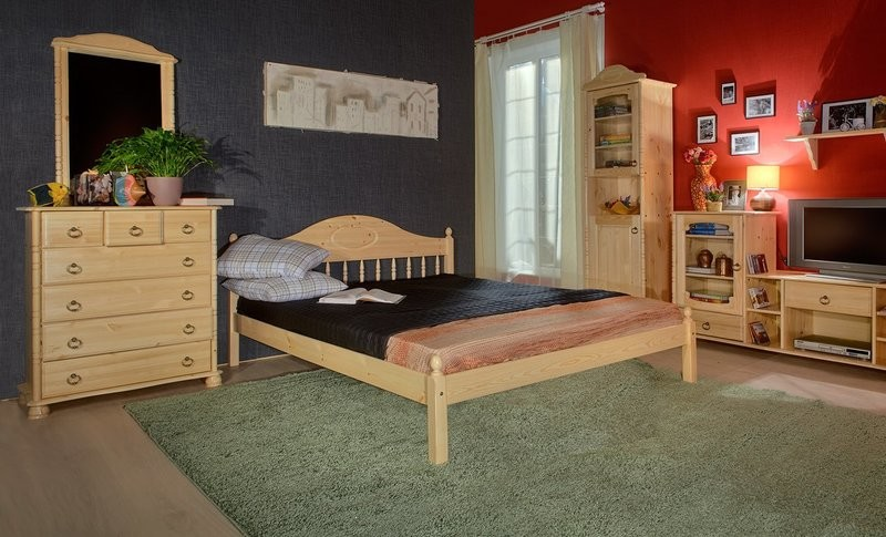 арт. 8009 Кровать F1