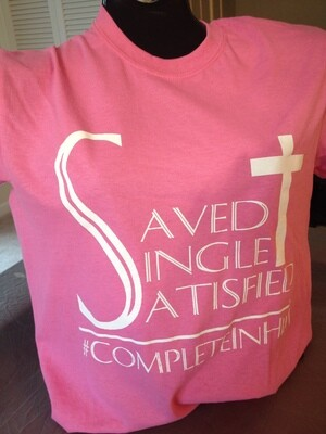 SAVED-SINGLE-SATISFIED T-shirt
