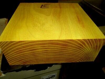 Large Osage Orange Bowl Blank 8 X 8 X 3