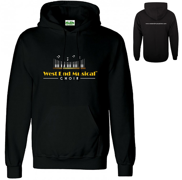 West End Musical Choir - Pull Over Hoodie - Size S WOMEN