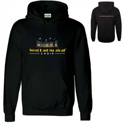 West End Musical Choir - Pull Over Hoodie - Size MEDIUM MEN