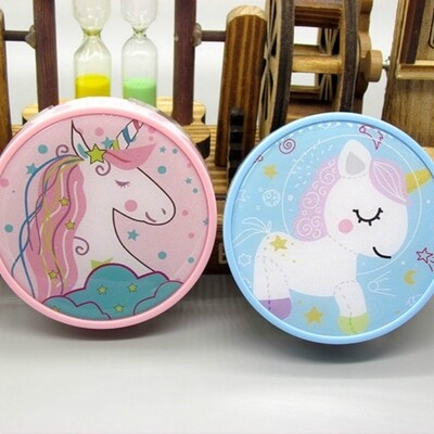 Others - Unicorn Mirror Contact Lens Casing Set