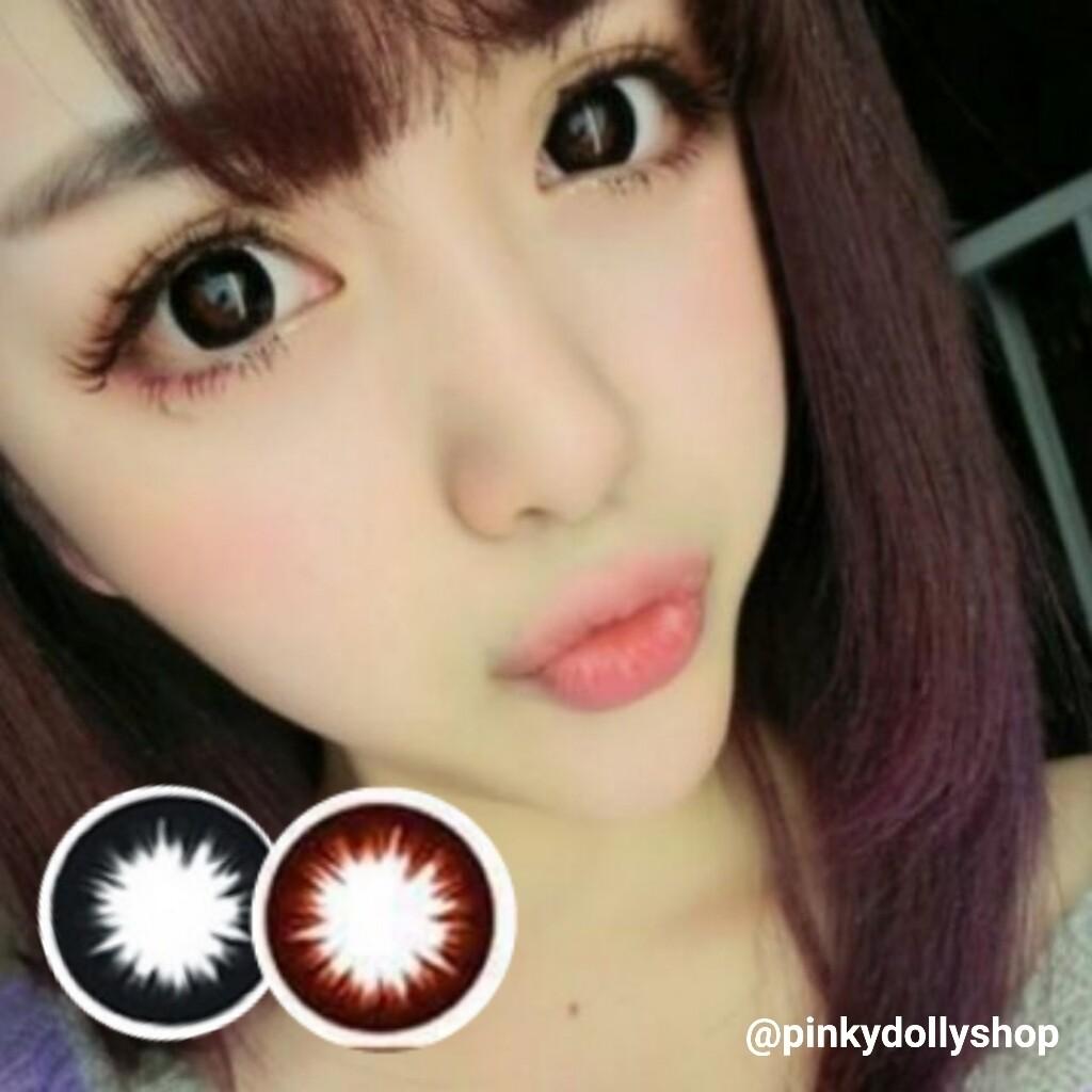 Extra Black / Choco Rx (big eyes effect)