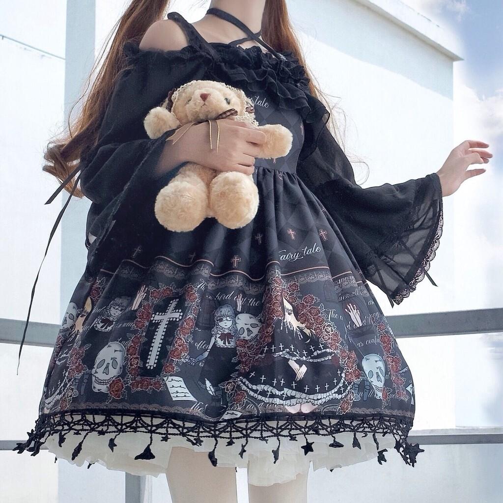 Fashion Japanese Kawaii Lolita Diablo Dress