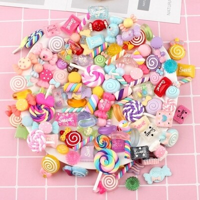 Others - Assorted Cute Tiny Little Sweets Charm DIY crafts