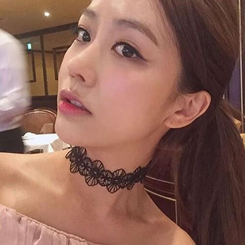 Flye Fashion 1pcs set Punk Lace Embroidered Women Choker Necklace Gothic Jewelry