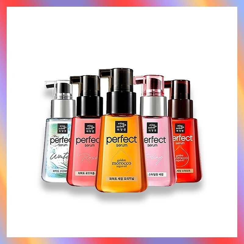 Fashion hair care 1pack  mise en scene Perfect  Repair Serum 80ml 5 Types
