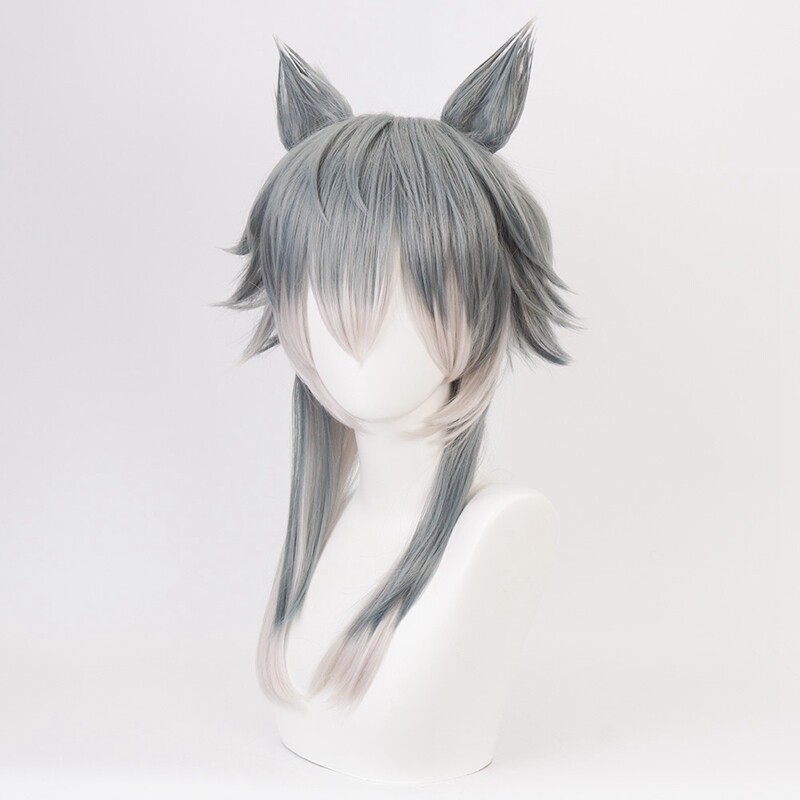 1pcs Anime BEASTARS Legoshi Wig Wolf Ears Personified Beasts Cosplay
