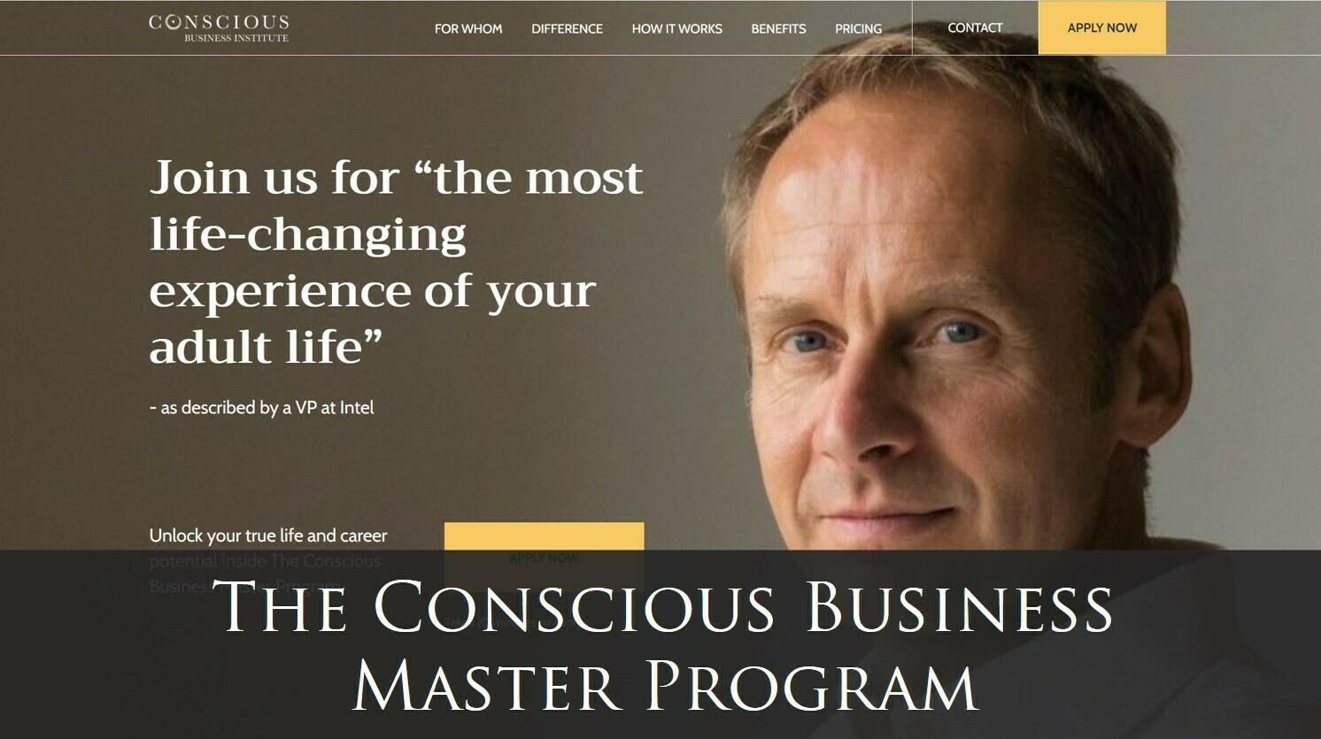 Conscious Business Master Program - First Installment