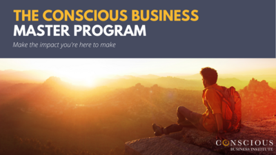 Conscious Business Master Program - 12 Month Installment Plan