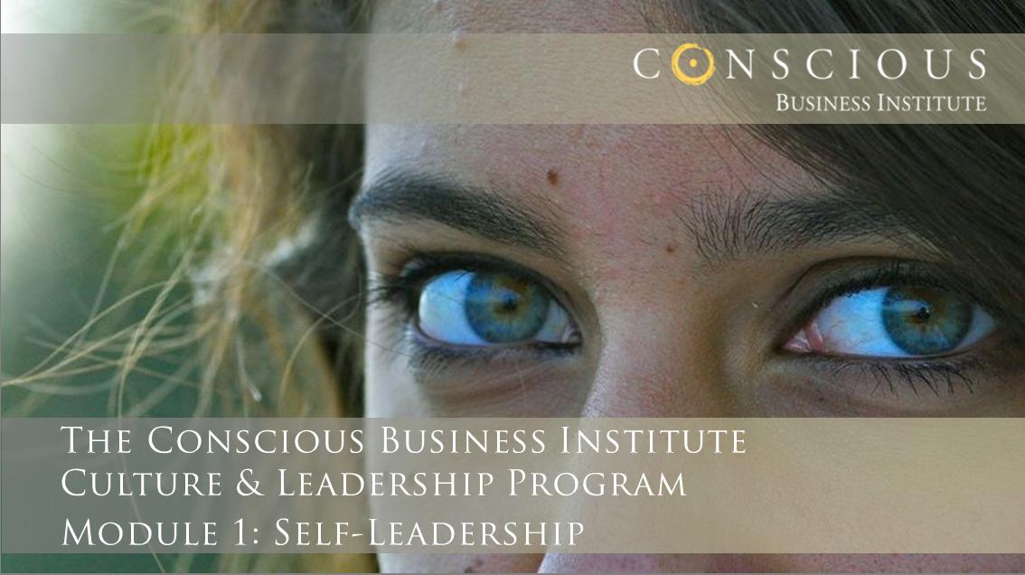 Conscious Business Ambassador Program: Module 1