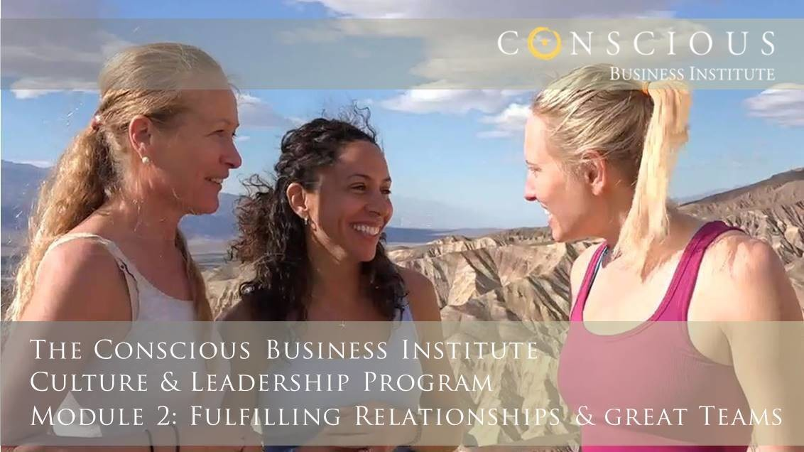 Conscious Business Ambassador Program: Module 2