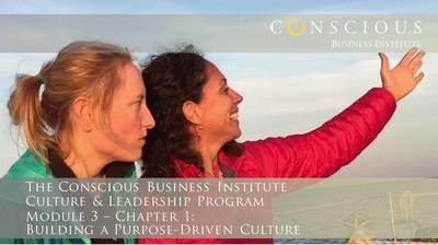 Conscious Business - Module 3: Building A Purpose-Driven Culture (Chapter 1)