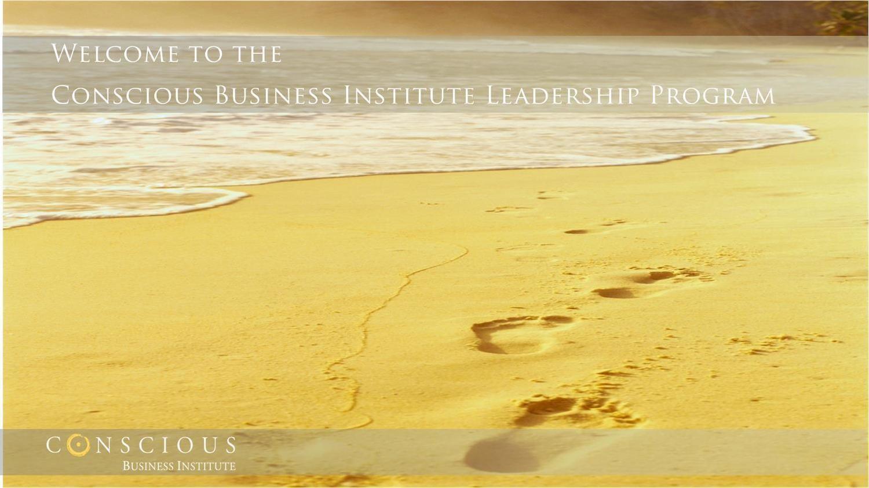 Conscious Business Culture & Leadership Program: Module 1-3 (e-course)