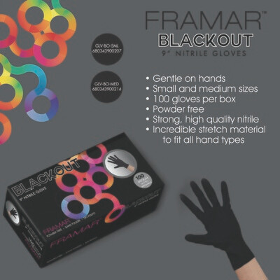 Gloves Framar Black Nitrile